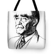 Rudyard Kipling (1865-1936) Tote Bag