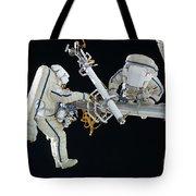 Russian Cosmonauts Working Tote Bag