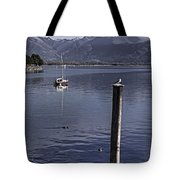 Sailing Boat Tote Bag