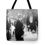 Silent Film: Restaurant Tote Bag