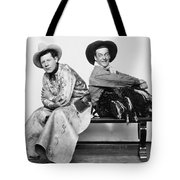 Silent Film Still: Cowboys Tote Bag