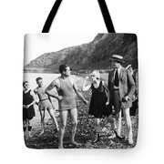 Silent Still: Beach Tote Bag