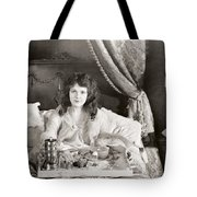 Silent Still: Bedroom Tote Bag