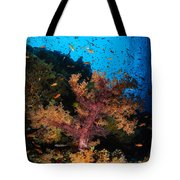 Soft Coral Seascape, Fiji Tote Bag