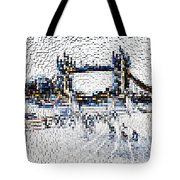 Southbank London Art Tote Bag