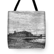 Suez Canal Construction Tote Bag