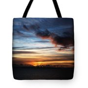 Sunset Over Poole Bay Tote Bag
