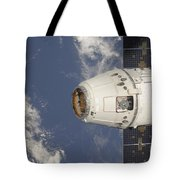 The Spacex Dragon Commercial Cargo Tote Bag