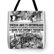 Uncle Toms Cabin Tote Bag