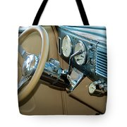40 Ford Coupe Dash Tote Bag