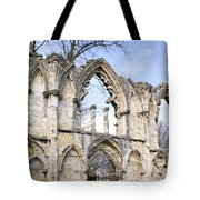 Scenes From The City Of York  Tote Bag