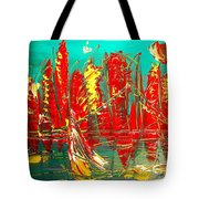 City  Tote Bag