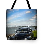 '47 Chevy By The Bay Tote Bag