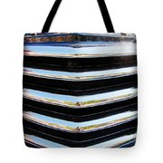 48 Chevy Convertible Grill Tote Bag
