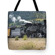 482 Round The Curve Tote Bag