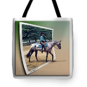 4h Horse Competition Tote Bag