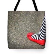 4th July Foot Tote Bag