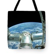 A Portion Of The International Space Tote Bag
