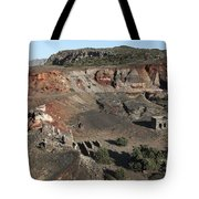 Abandoned Manganese Mine At Cape Vani Tote Bag