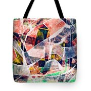 Abstract Composition Tote Bag