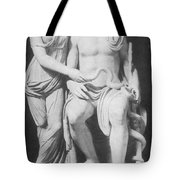 Aesculapius, Greek God Of Medicine Tote Bag