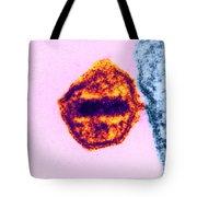 Aids Virus Tote Bag