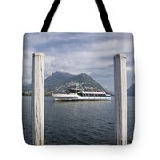 Alpine Lake Tote Bag