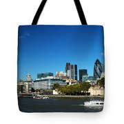 City Of London Skyline Tote Bag