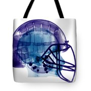 Football Helmet, X-ray Tote Bag