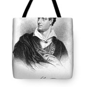 George Gordon Byron (1788-1824) Tote Bag