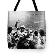 Hank Aaron (1934- ) Tote Bag