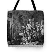Hogarth: Rakes Progress Tote Bag