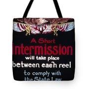 Intermission Slide Tote Bag