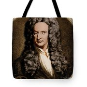 Isaac Newton, English Polymath Tote Bag