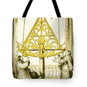 Johannes Hevelius, Polish Astronomer Tote Bag by Science Source