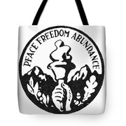 Presidential Campaign, 1948 Tote Bag