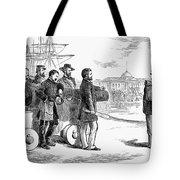 Reconstruction Cartoon Tote Bag