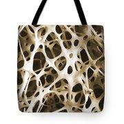 Sem Of Human Shin Bone Tote Bag