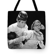 Silent Still: College Tote Bag