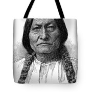 Sitting Bull (1834-1890) Tote Bag