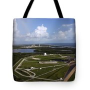 Space Shuttle Atlantis And Endeavour Tote Bag