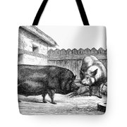 Swine, 19th Century Tote Bag