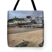 Tenby Harbour From North Beach Tote Bag