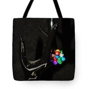 The Black Hand Tote Bag