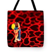 The Lovers In Valentine's Day Tote Bag