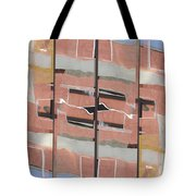 Urban Abstract San Diego Tote Bag by Carol Leigh