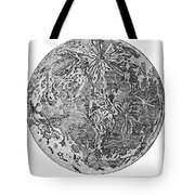 Verne: Earth To Moon Tote Bag