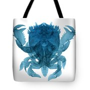 X-ray Of Deep Water Crab Tote Bag