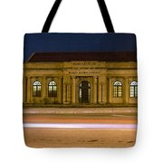 50 Years Past Train Time Tote Bag