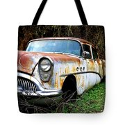 50's Cruiser Of The Past Tote Bag by Steve McKinzie